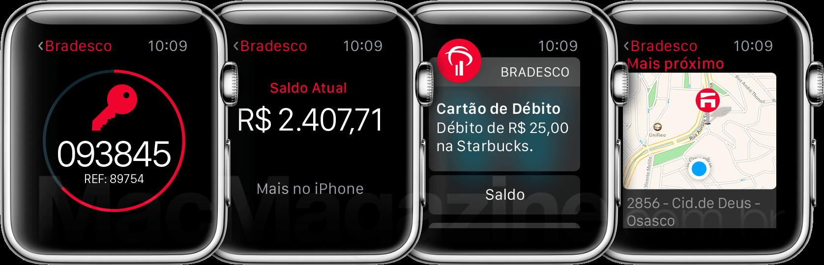 Banco Bradesco for Apple Watch
