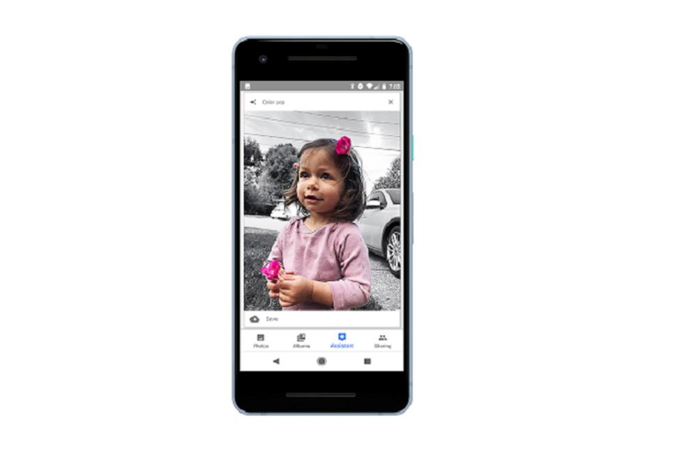 Google Photos leaves background in black and white Photo: Divulgao / Google