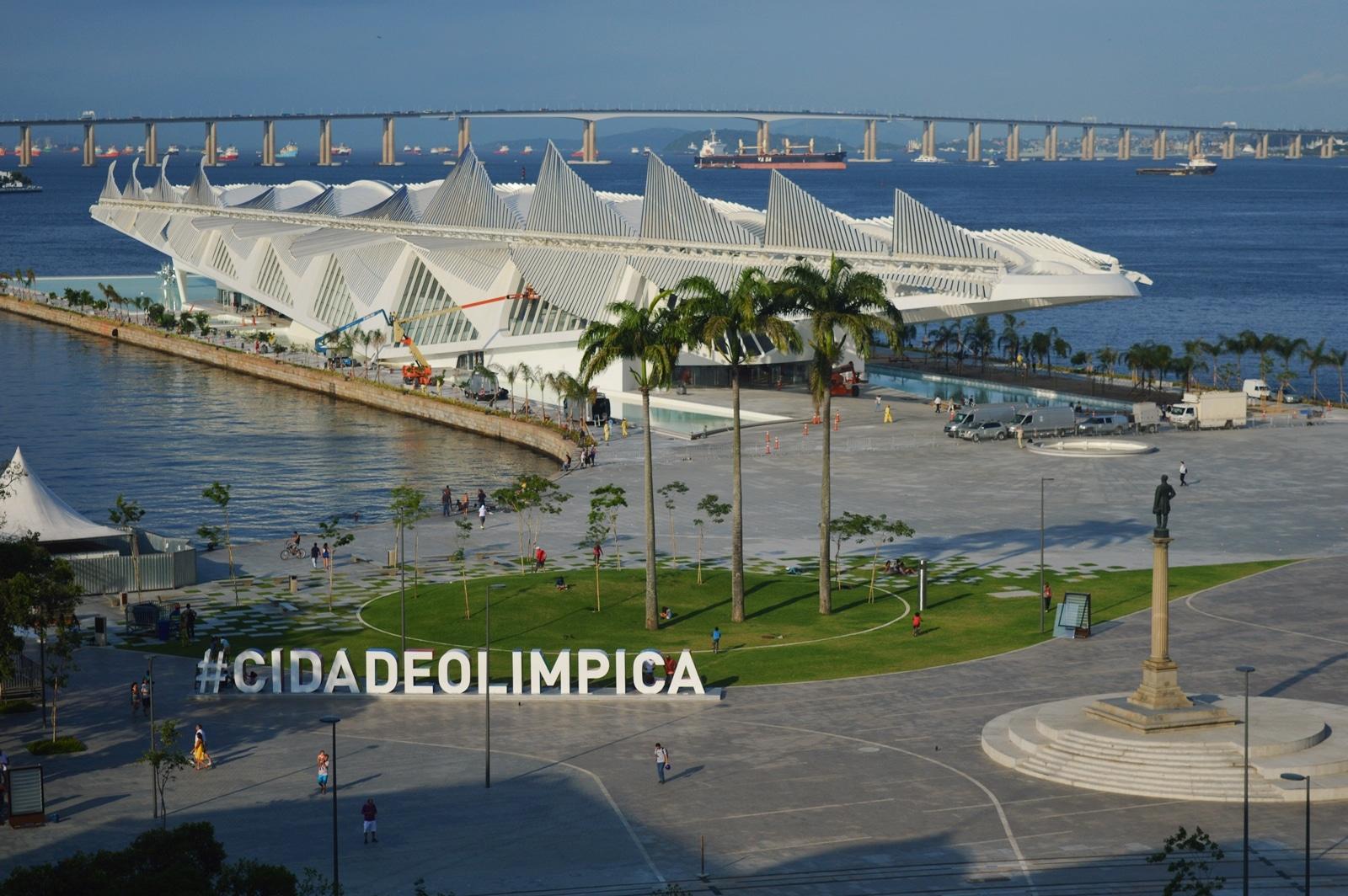 Museum of Tomorrow, in the Porturia Zone