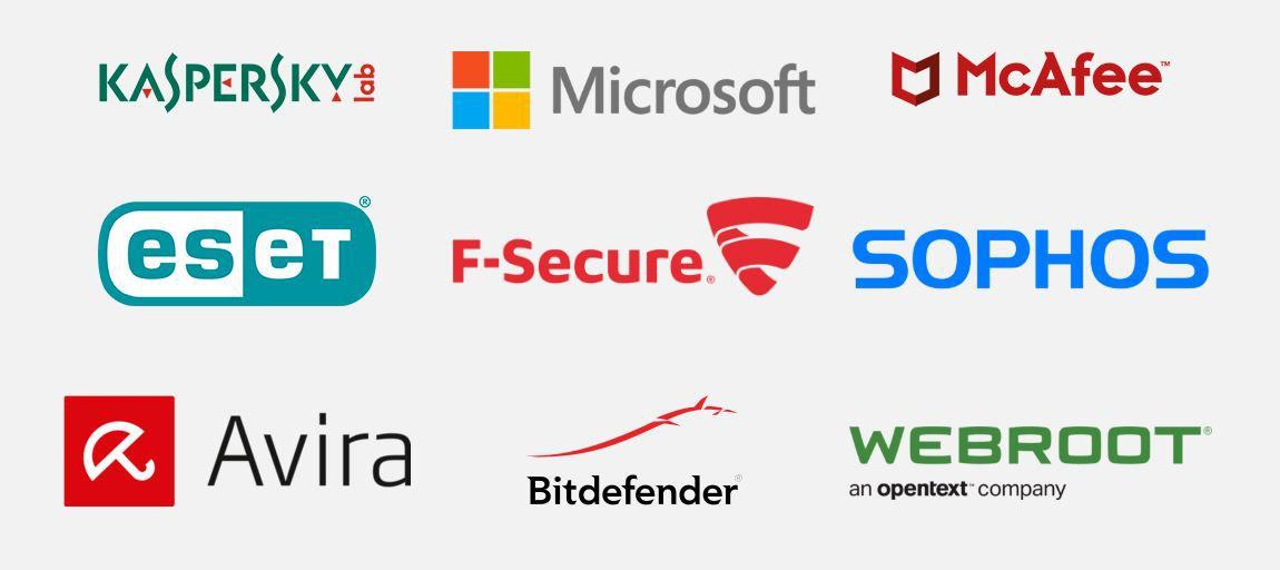 Antivirus programs with the vulnerability