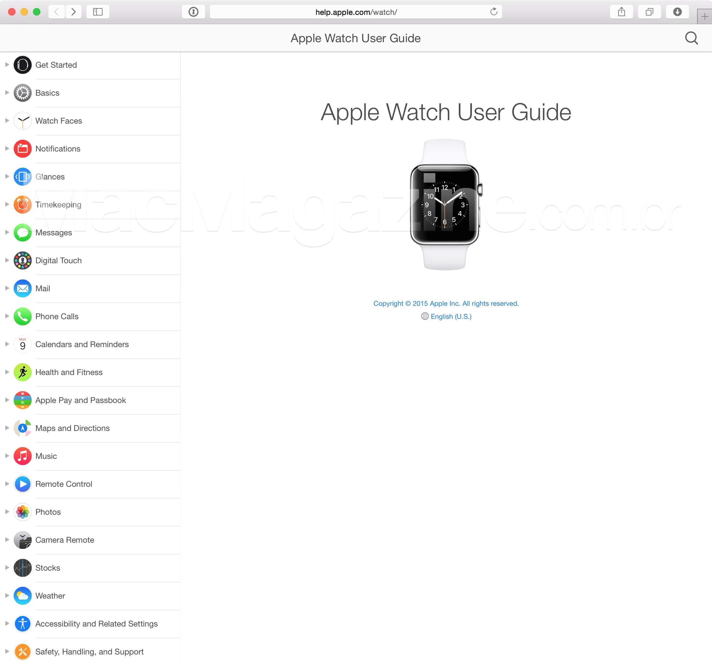 User Guide (Apple Watch)