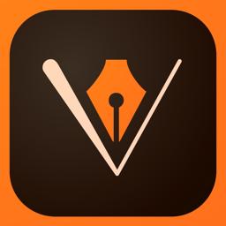 Adobe Illustrator Draw app icon