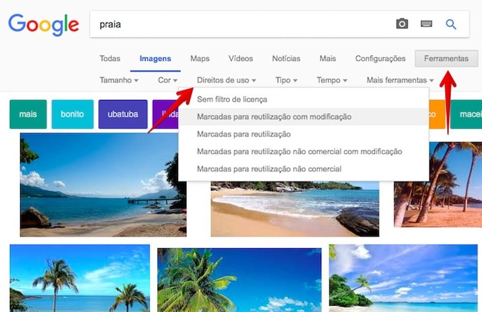 Filter Google search results Photo: Reproduo / Helito Bijora