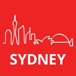 Sydney Travel Guide app icon
