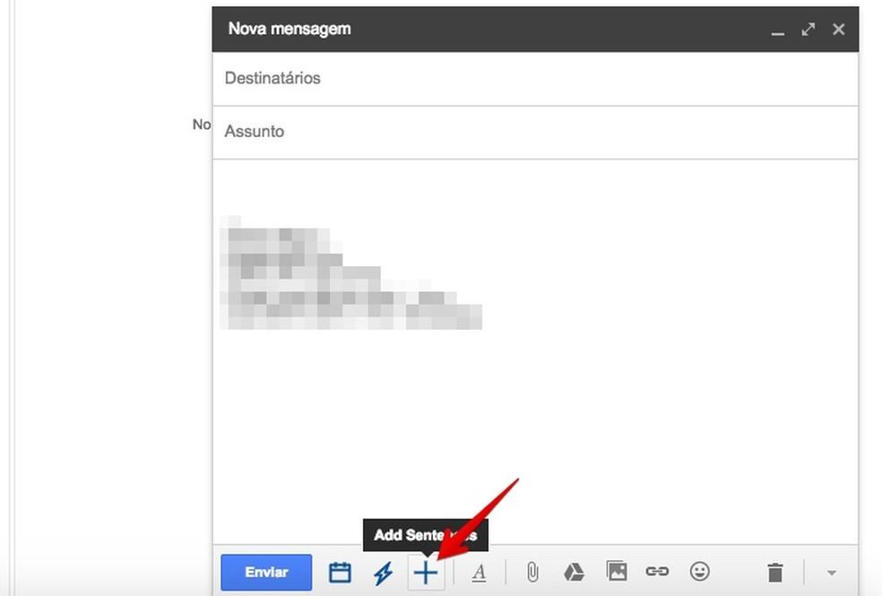 Add custom shortcuts via EasyEmail AI Photo: Reproduo / Helito Bijora