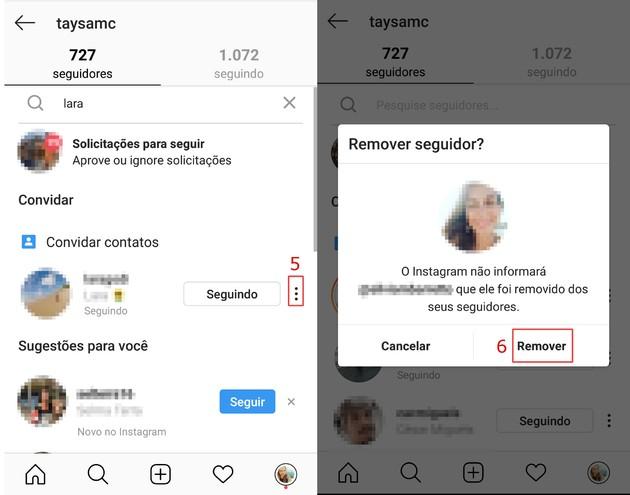 Mute Instagram contact