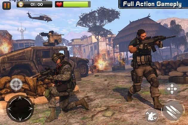 Real Commando Secret Mission war game