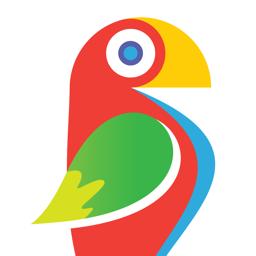 Brushstroke app icon