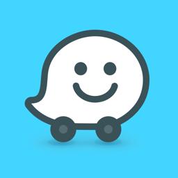Waze app icon - Live GPS & Traffic