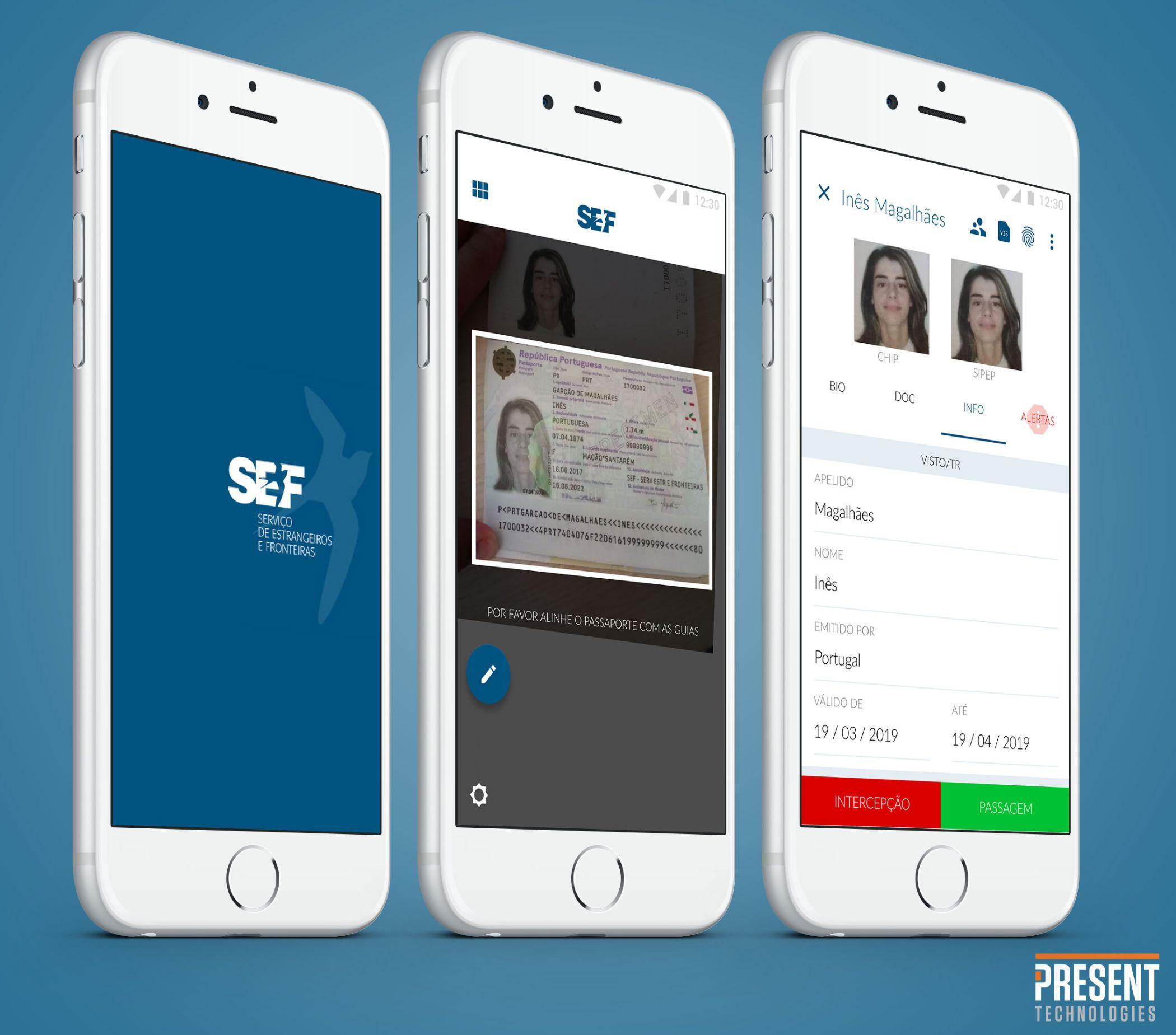 SEF Mobile Application   Present Techonogies