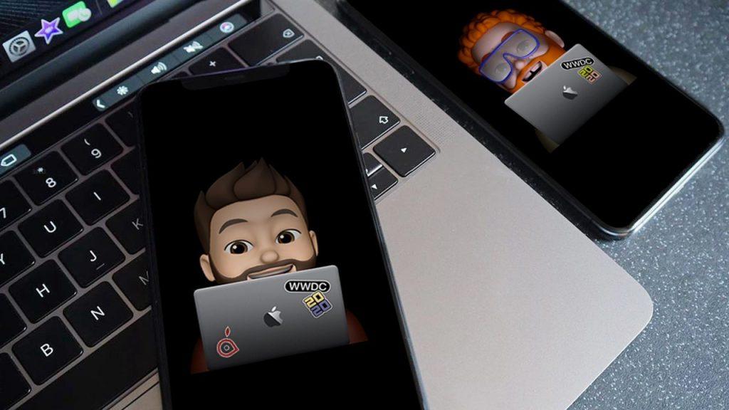Apple WWDC20 advertising emojis