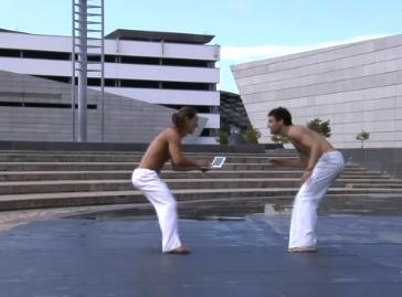 Capoeira with Sony VAIO P
