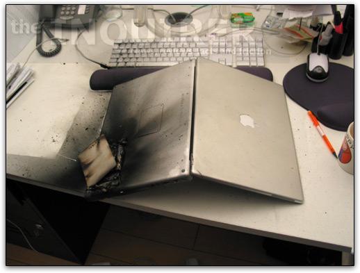 PowerBook G4 Explosion