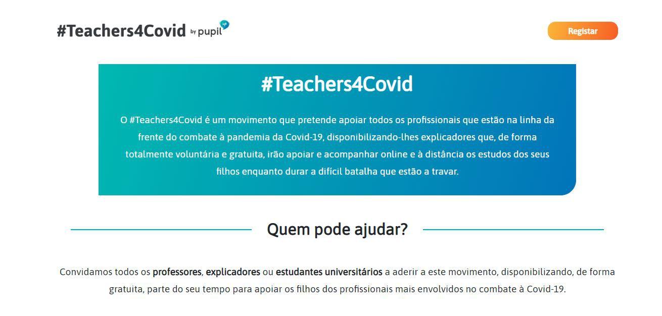 Teachers4COVID