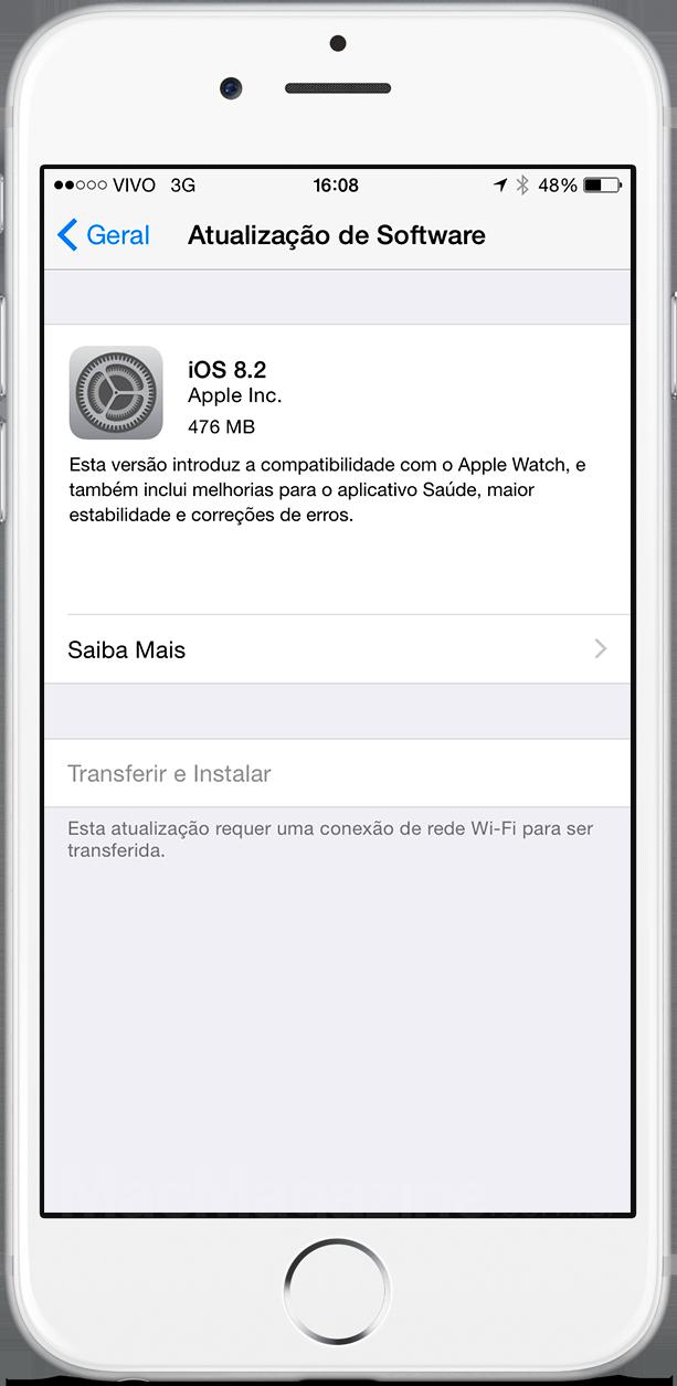 iOS 8.2 released