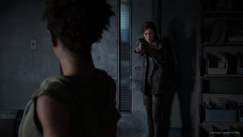 Ellie threatening character