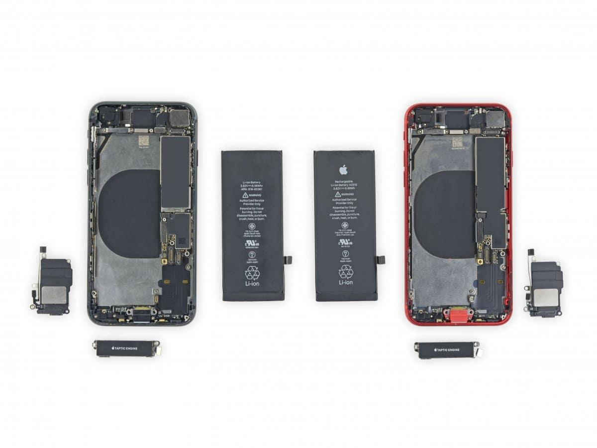 iFixit: disassemble iPhone SE