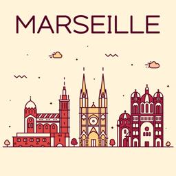 Marseille Travel Guide app icon