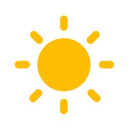 WeatherWheel app icon: Alerts, Forecast