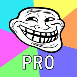 Meme Creator PRO app icon: Make Memes