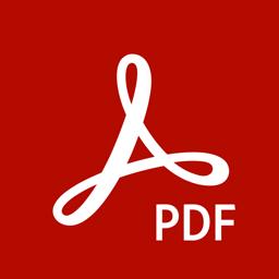 Adobe Acrobat Reader app icon: Read PDF