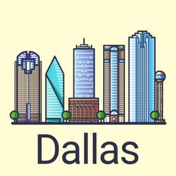 Dallas Travel Guide app icon