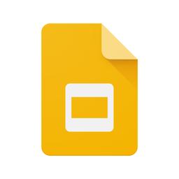 Google Slides app icon