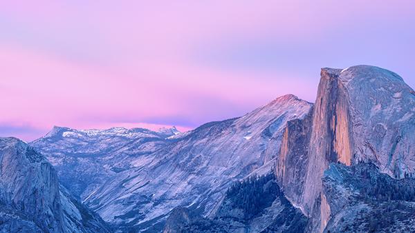 New OS X Yosemite wallpaper