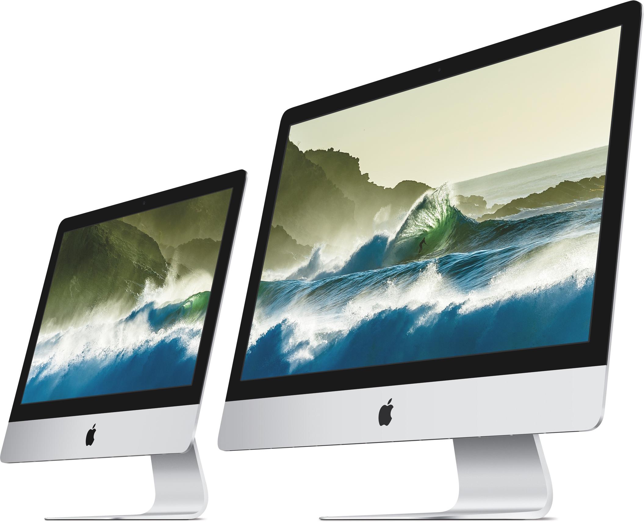iMacs Retina side by side