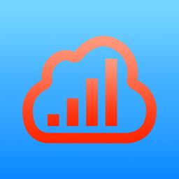 Barograph app icon: Barometer & Altimeter