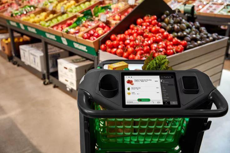Amazon Cash Dart with touchscreen