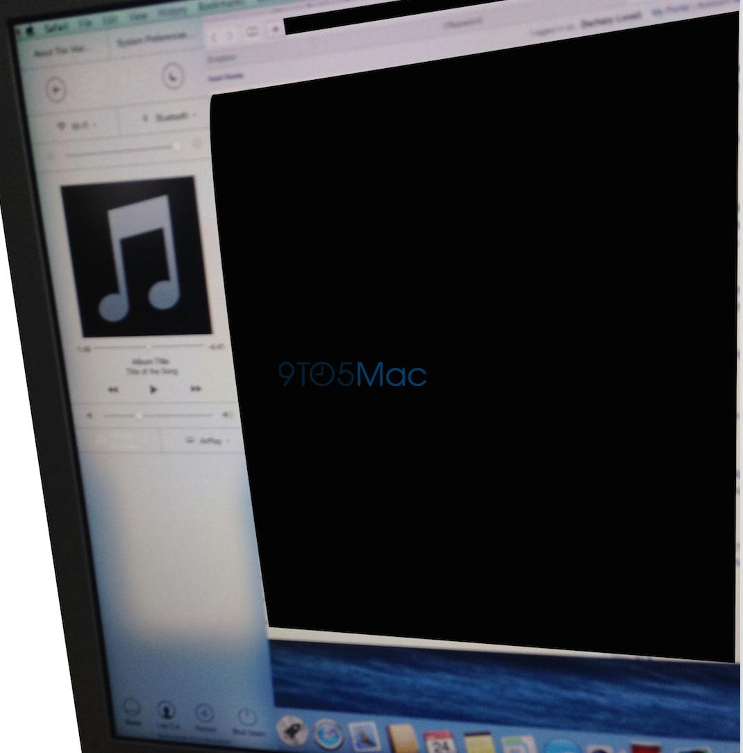 Control Center - OS X Yosemite