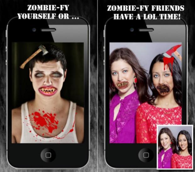 free apps iOS walking dead
