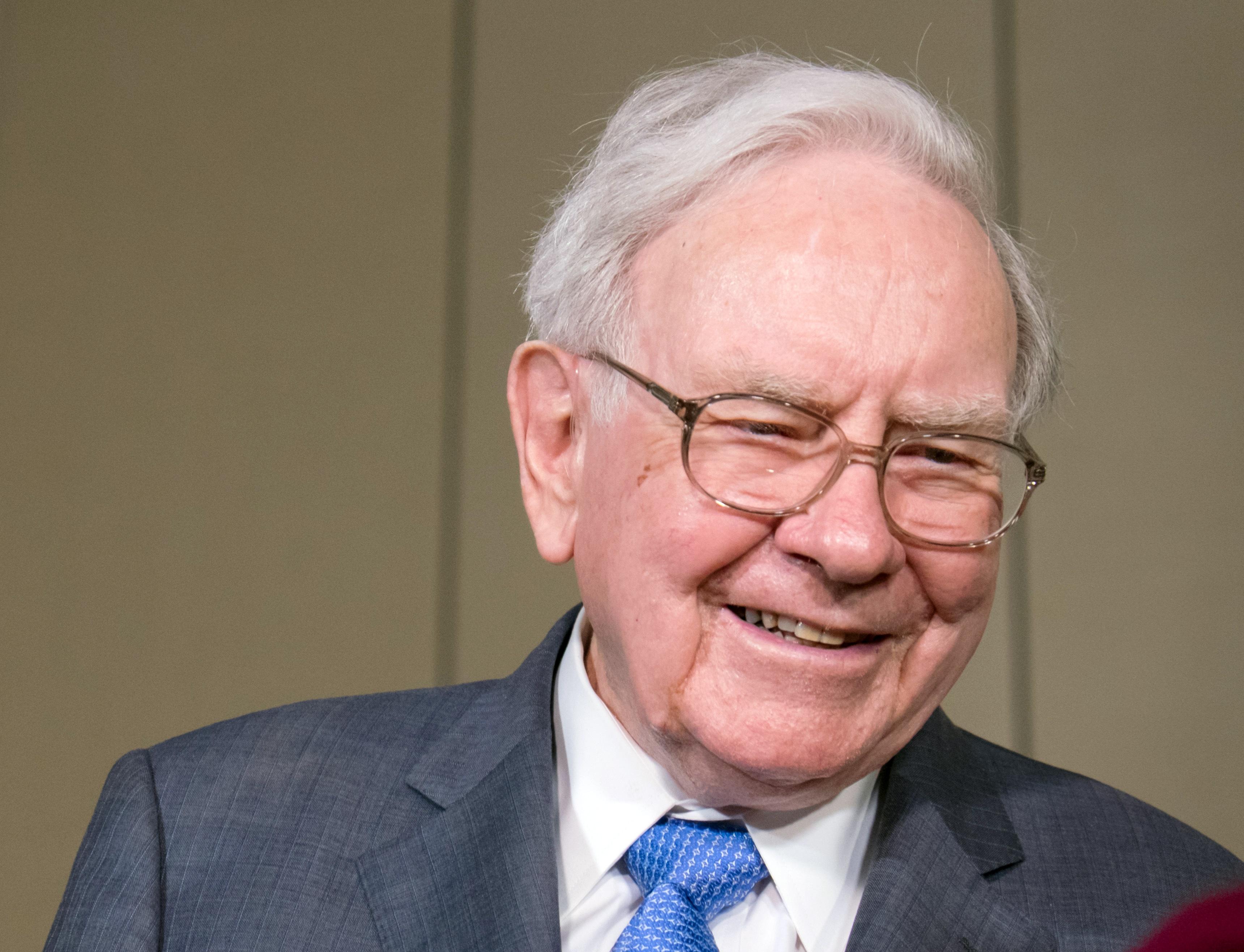 Warren Buffett of Berkshire Hathaway