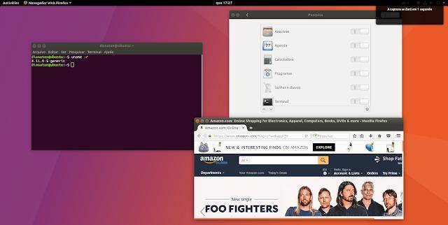 Gnome on Ubuntu 17.10
