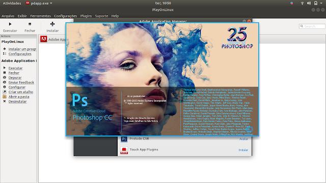 Photoshop on Linux
