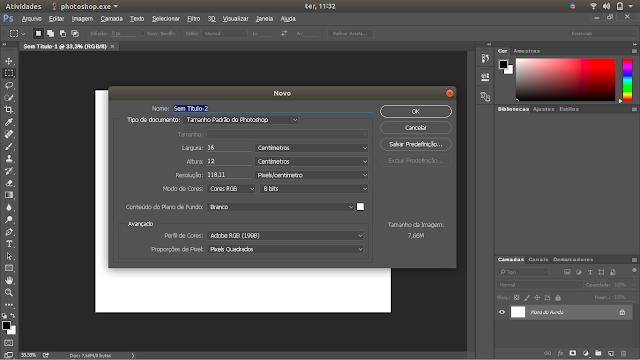 Adobe Photoshop on Linux