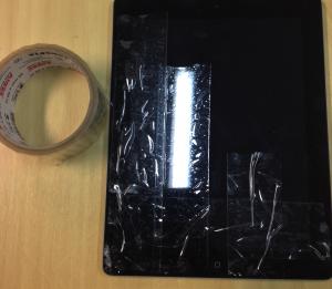 broken reader iPad