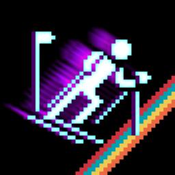 Retro Winter Sports 1986 app icon