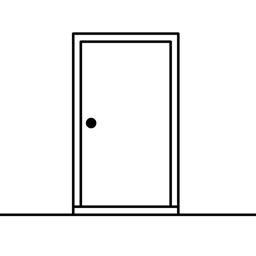 The White Door app icon