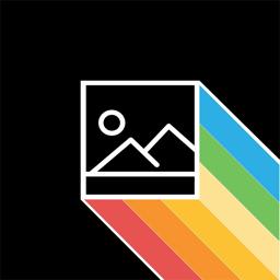 Raven app icon: Photo Scan & Colorize