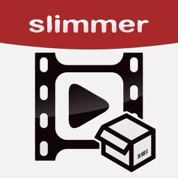 Video Slimmer app icon: Shrink, trim, merge, rotate movies
