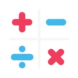 Math Duel: Split Screen Game app icon