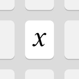 MathKey - LaTeX Converter app icon