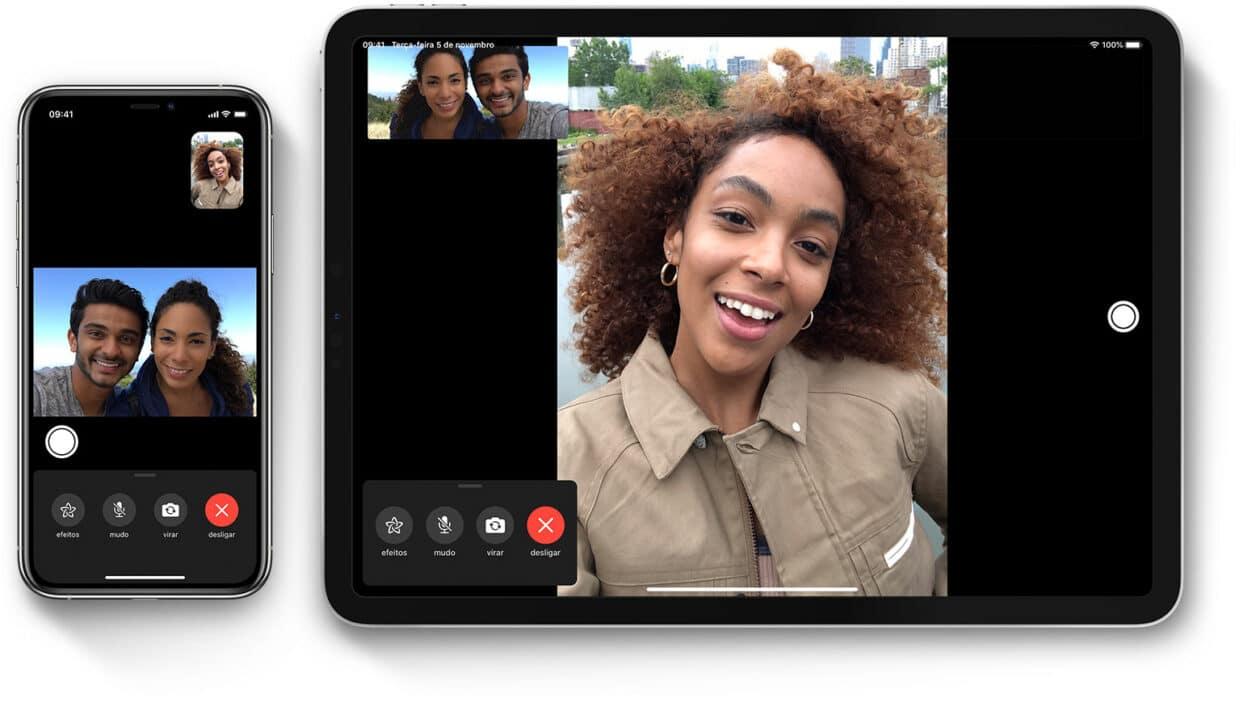 FaceTime on iOS 13