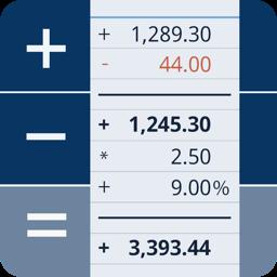 CalcTape tape calculator app icon