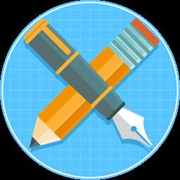 Bluetail app icon - Vector Designer