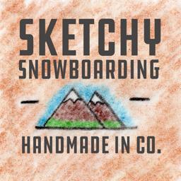 Sketchy Snowboarding app icon