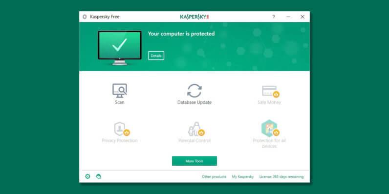 Kaspersky PC antivirus