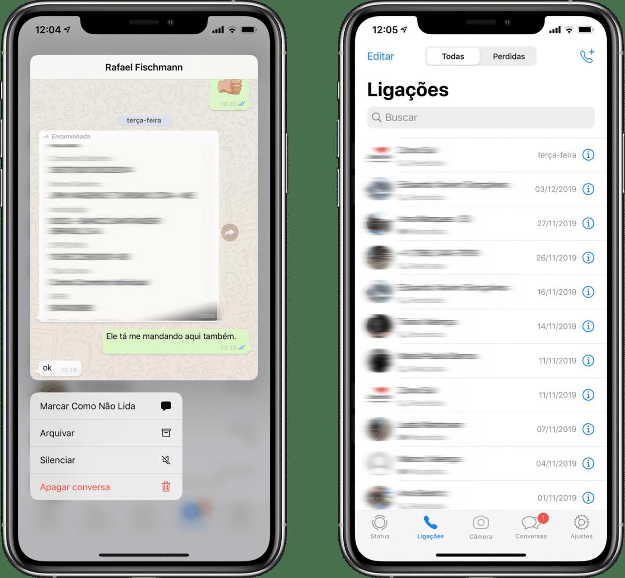 WhatsApp beta prepared for iOS 13